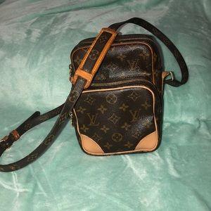 Authentic amazon crossbody bag